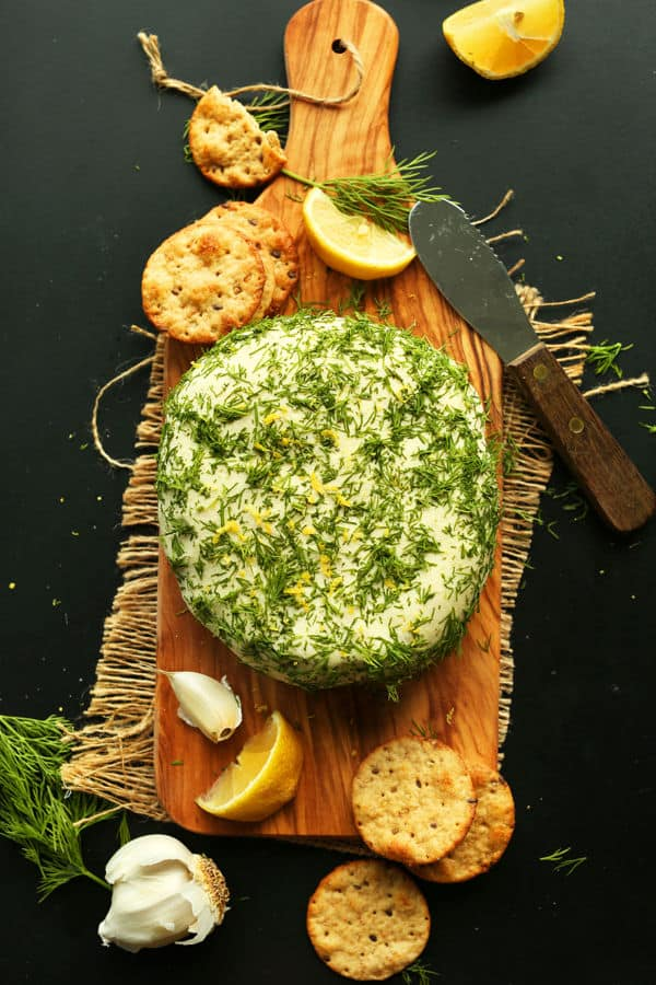 Easy Garlic and Herb Cheese