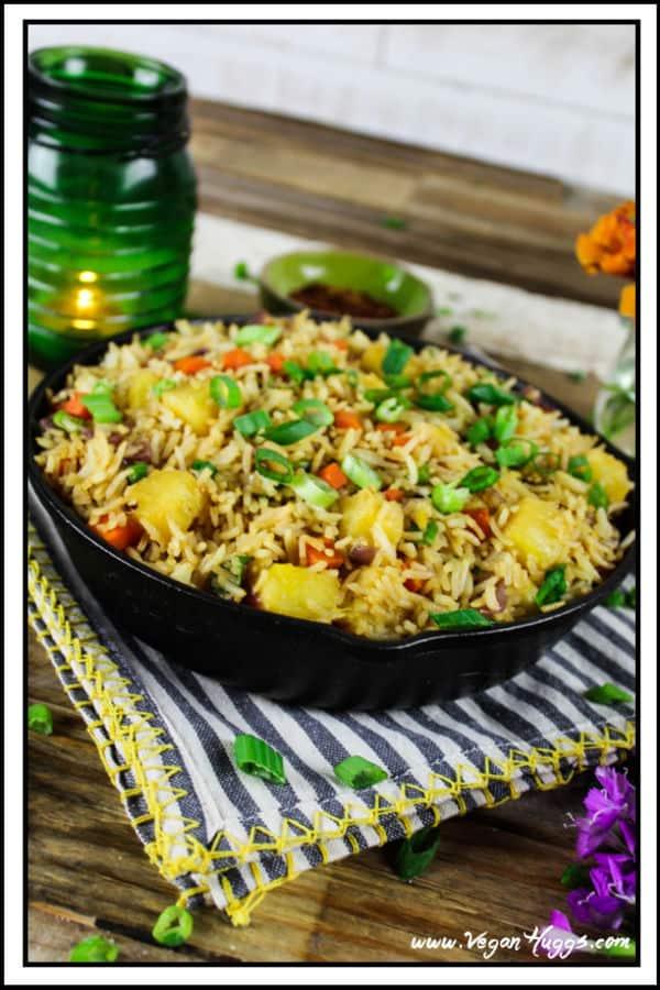 Easy Pineapple Fried Rice