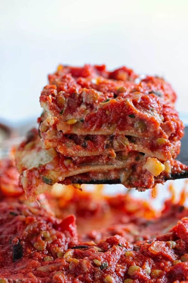 The Best Vegan Lasagna