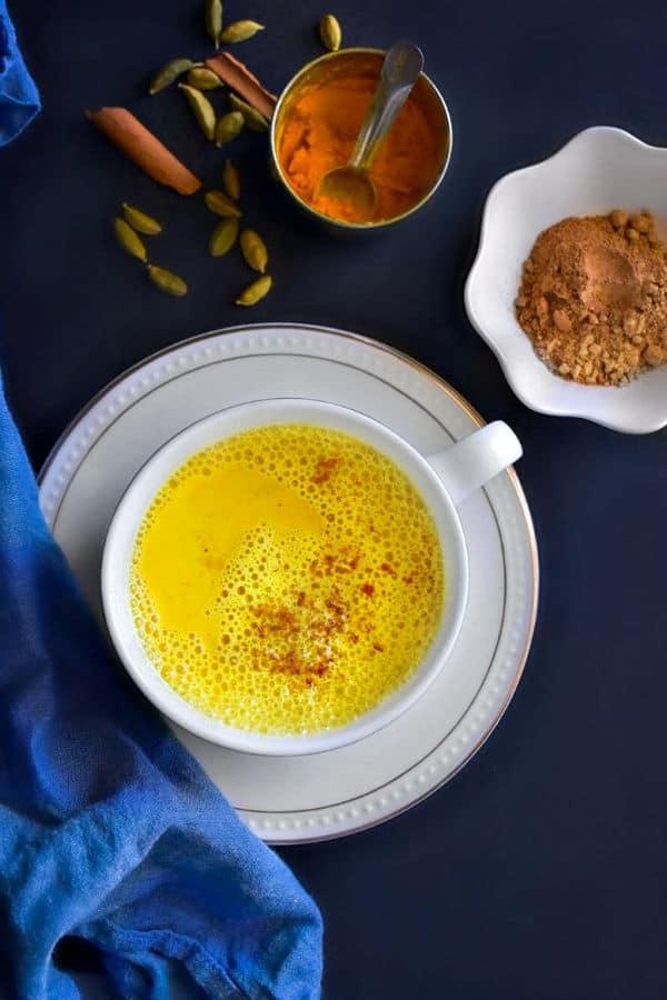 Healing Cashew Golden Milk
