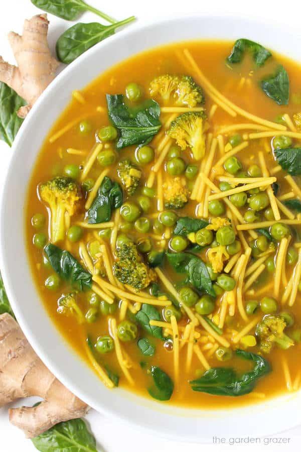 Healing Turmeric Noodle Soup