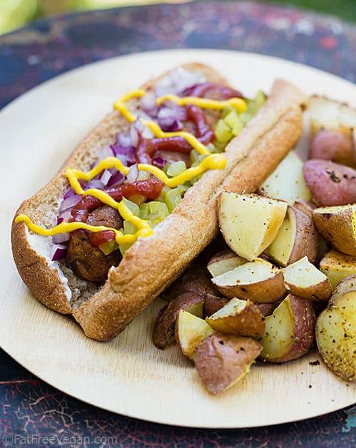 Homemade Veggie Dogs