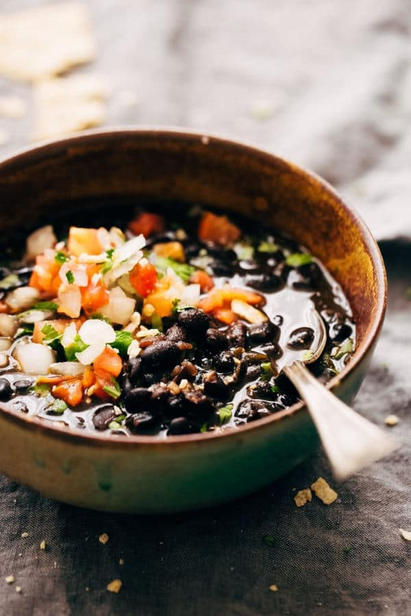 Instant Pot Easy Detoxing Black Bean Soup