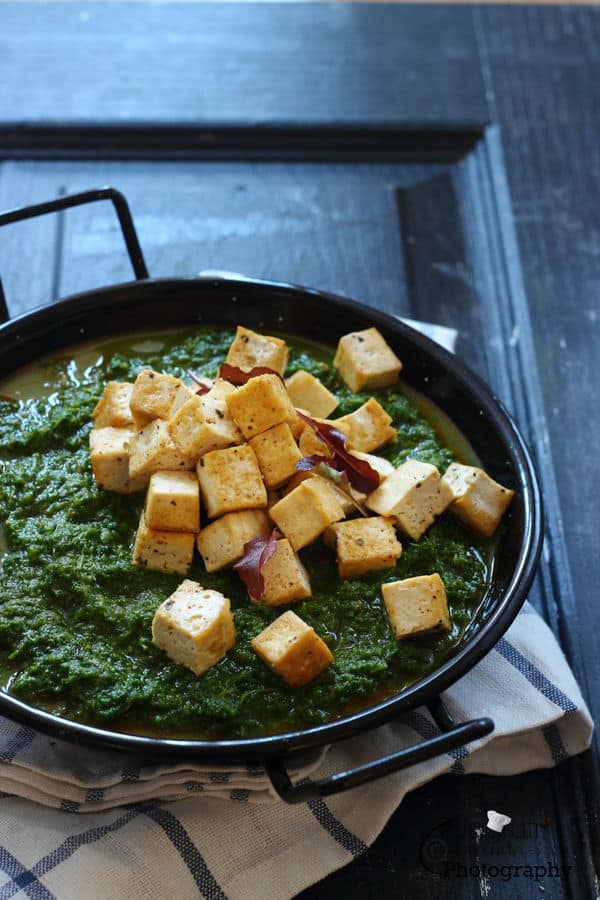 Kale and Herby Tofu Curry
