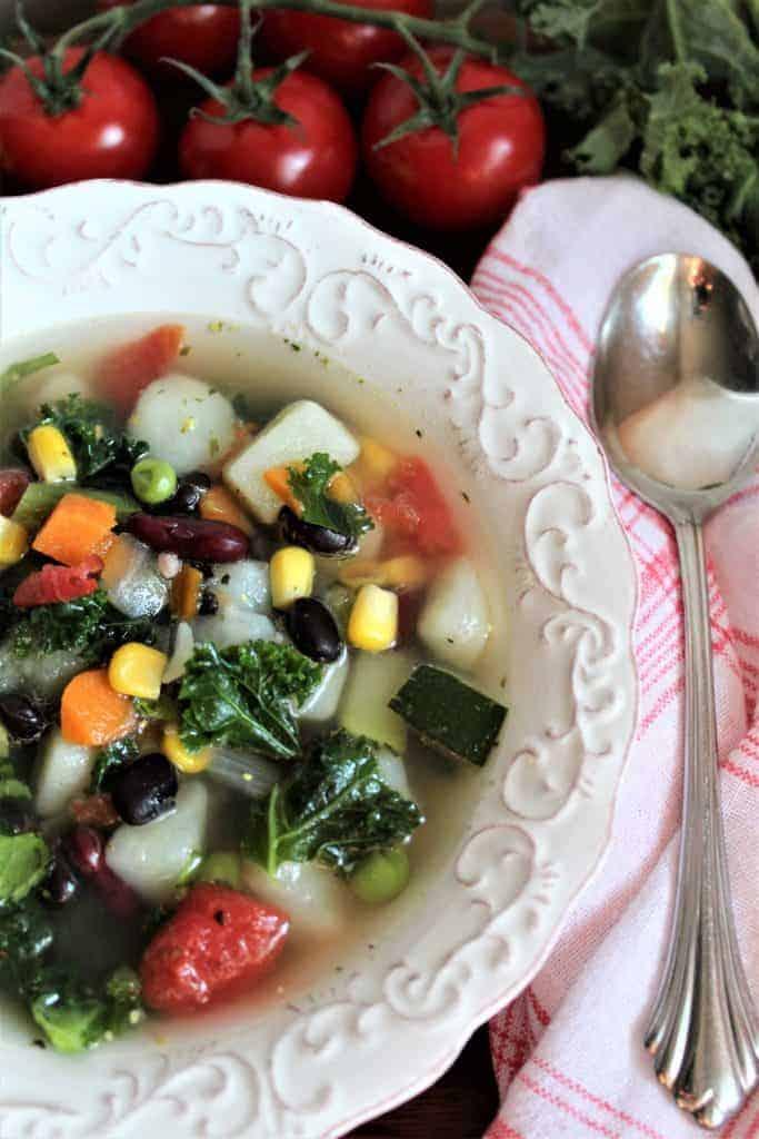 Minestrone Soup (Gluten-Free)