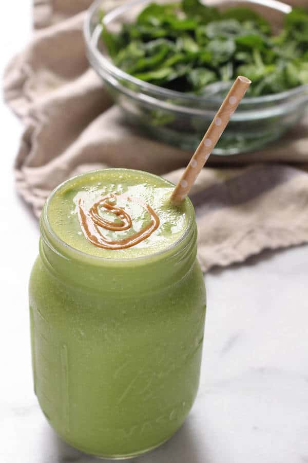 Nut Butter Green Smoothie