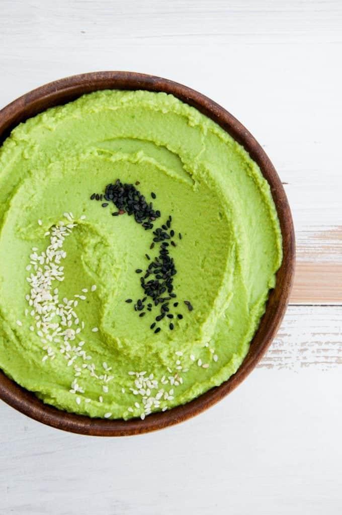 Oil-Free Spinach Hummus