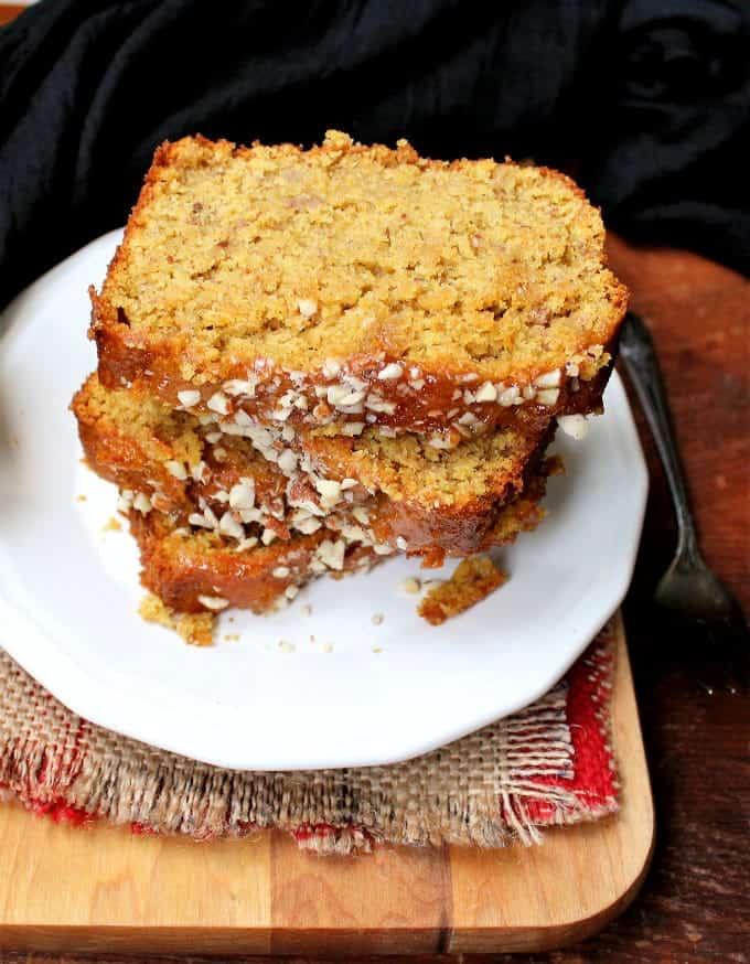 Orange Almond Breakfast Loaf