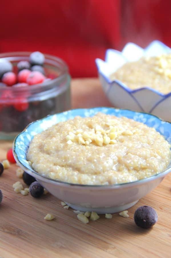 Spiced Breakfast Quinoa Porridge