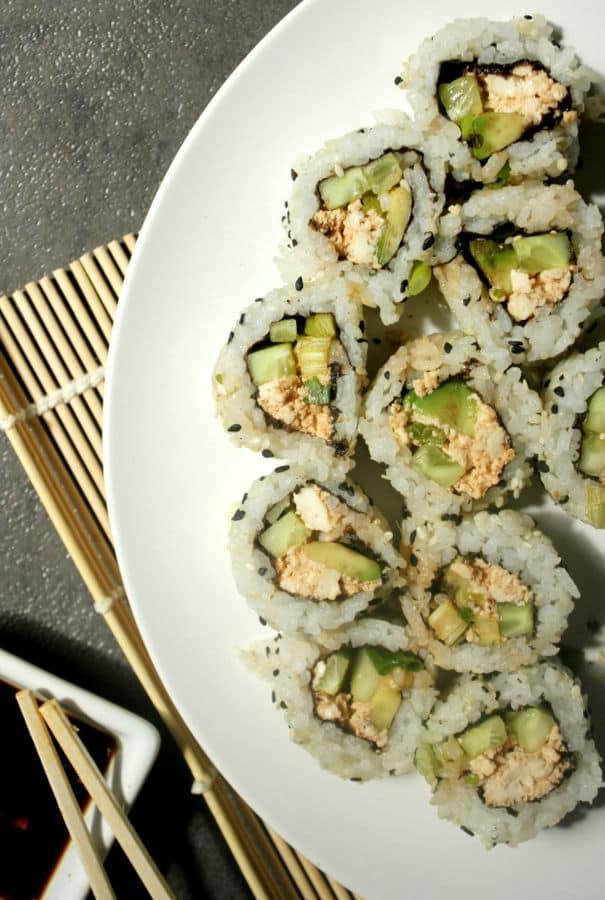 Spicy California Sushi Roll