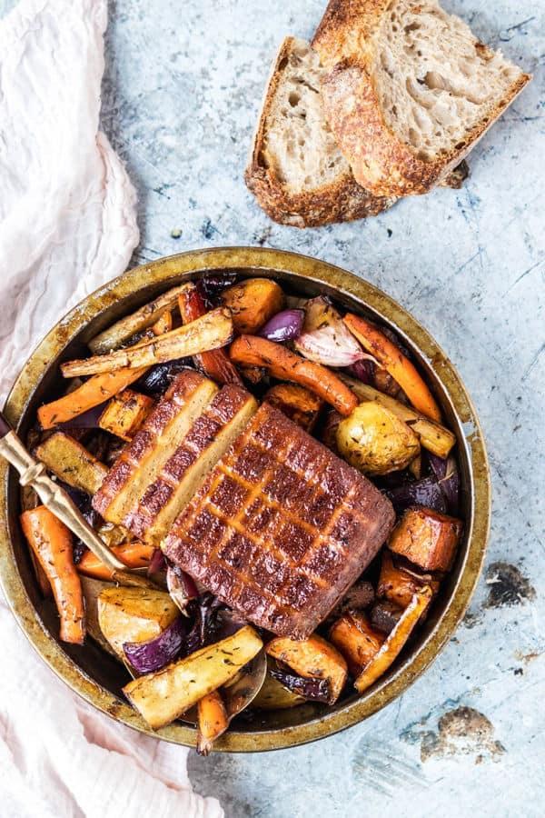 Super Easy One Pan Sunday Roast