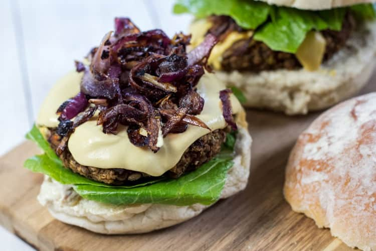 The Best Darn Homemade Vegan Burgers!