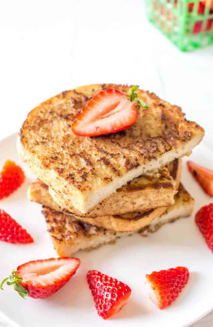 The Perfect Vegan French Toast
