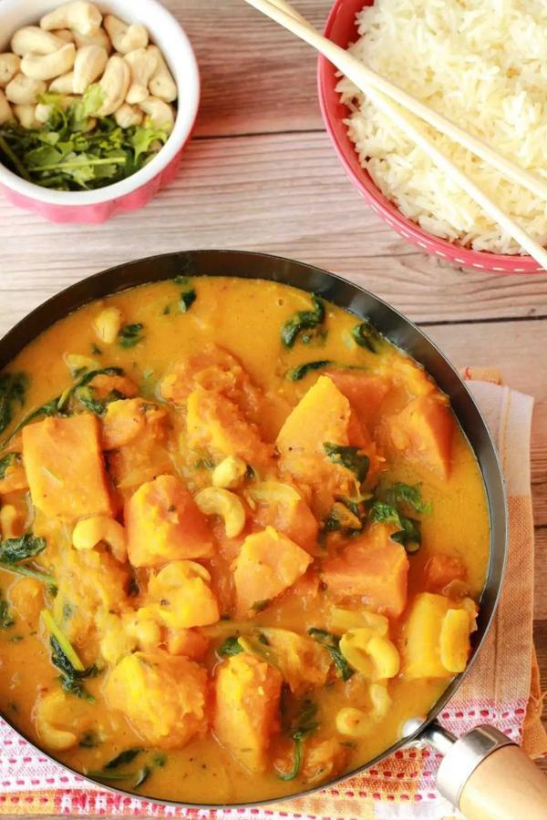 Easy Thai Pumpkin Curry