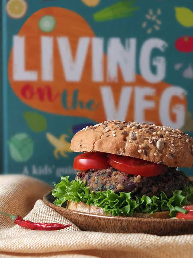 10-Minute Vegan Bean Burgers