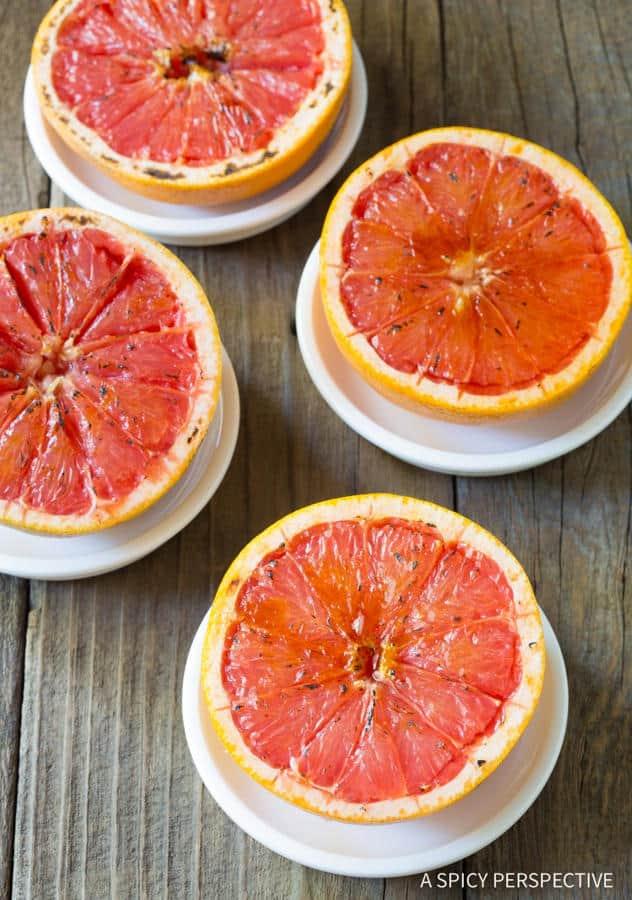 Bruleed Grapefruit (Pamplemousse Brûlé)