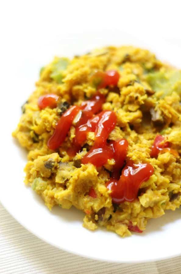 Chickpea Scramble (Gluten-Free)