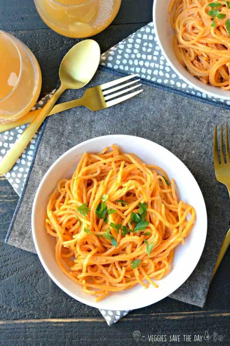 Creamy Sundried Tomato Pasta