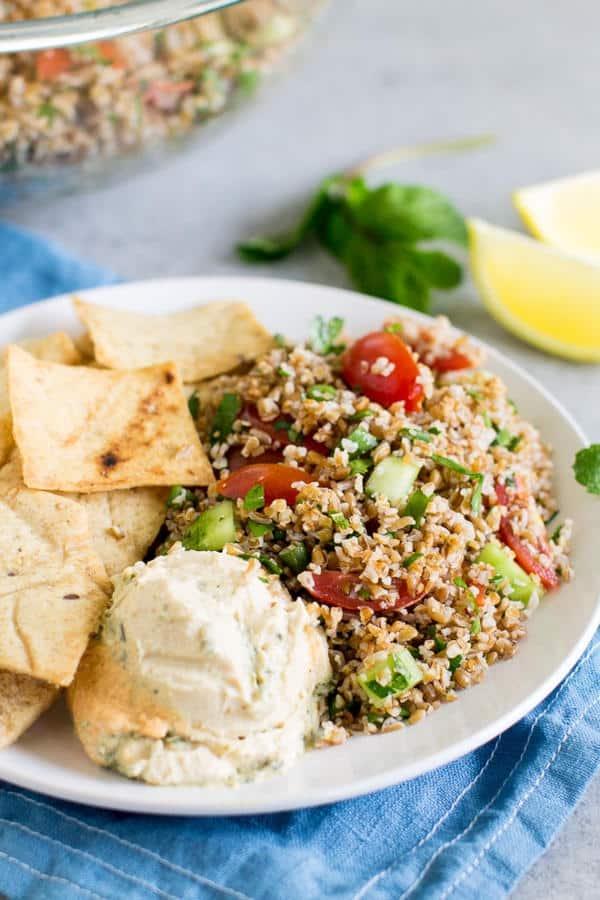 Easy Bulgur Tabbouleh Recipe