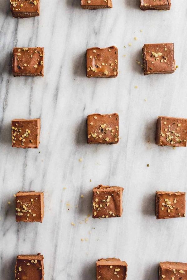 Easy Sweet Potato Chocolate Fudge Squares