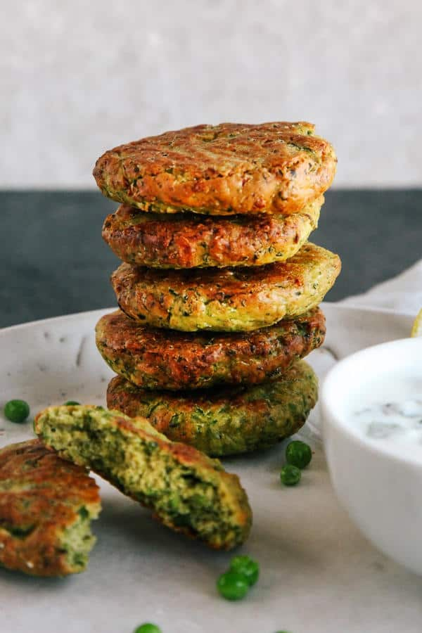 Green Pea Fritters (Gluten-Free)