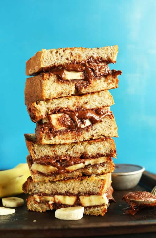 Grilled Nutella Banana Sandwich