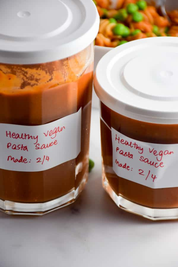 Healthy Pasta Sauce