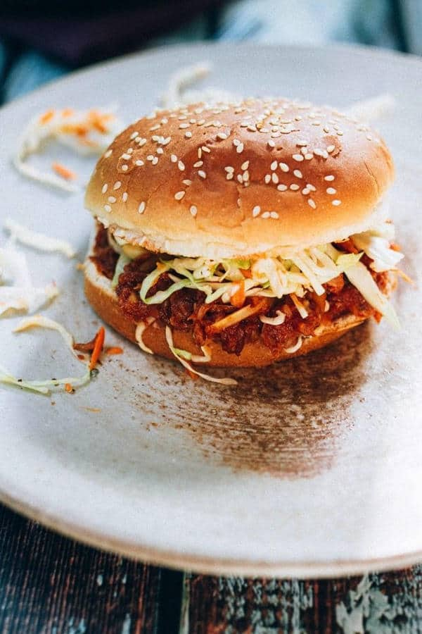 Hearts of Palm BBQ Sandwiches