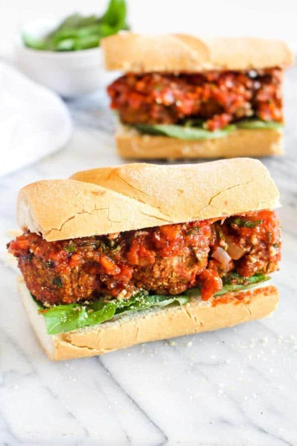 Italian Meatball Sandwich (Gluten-Free)
