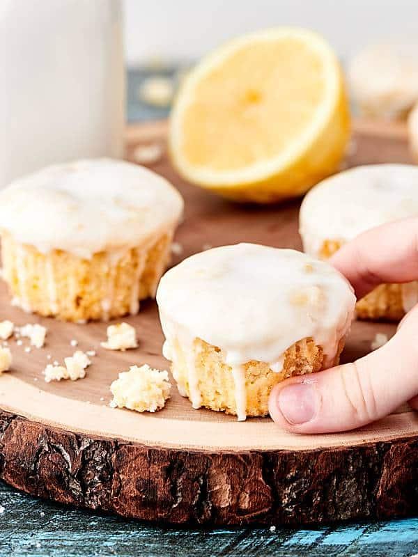 Lemon Pound Cake Cupcakes