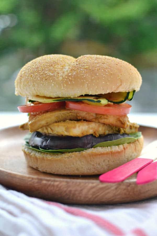 Nooch Tofu Burger