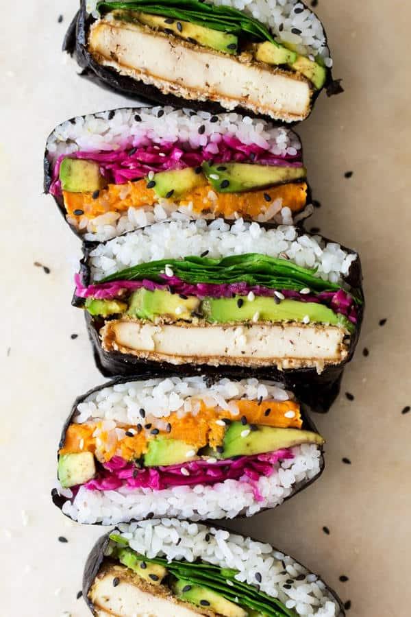 Onigirazu (Sushi Sandwich, Gluten-Free)
