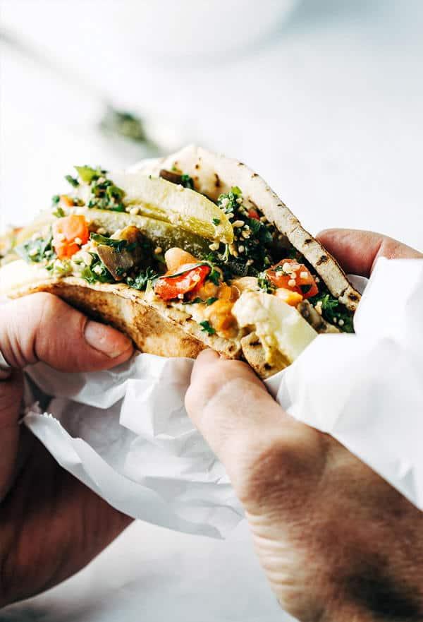 Sabich Sandwich with a Twist