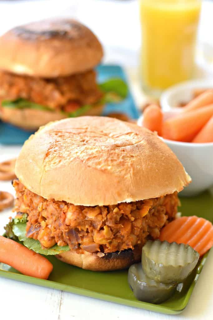 Sloppy Joes with Baked Onion Rings (Gluten-Free)