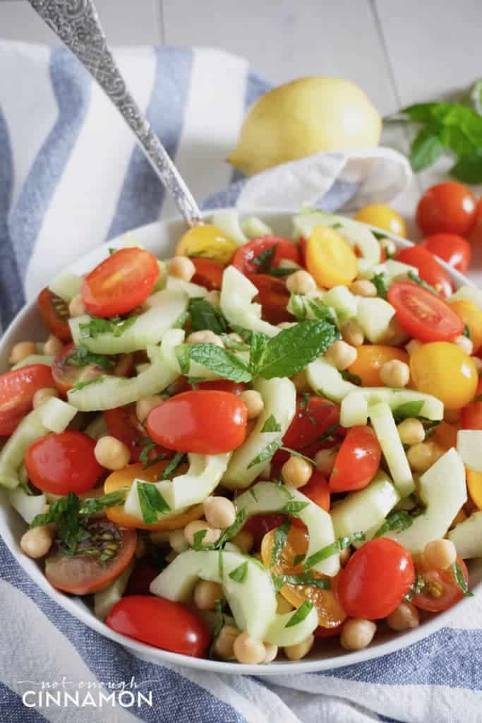 Solal's Summer Chickpea Salad