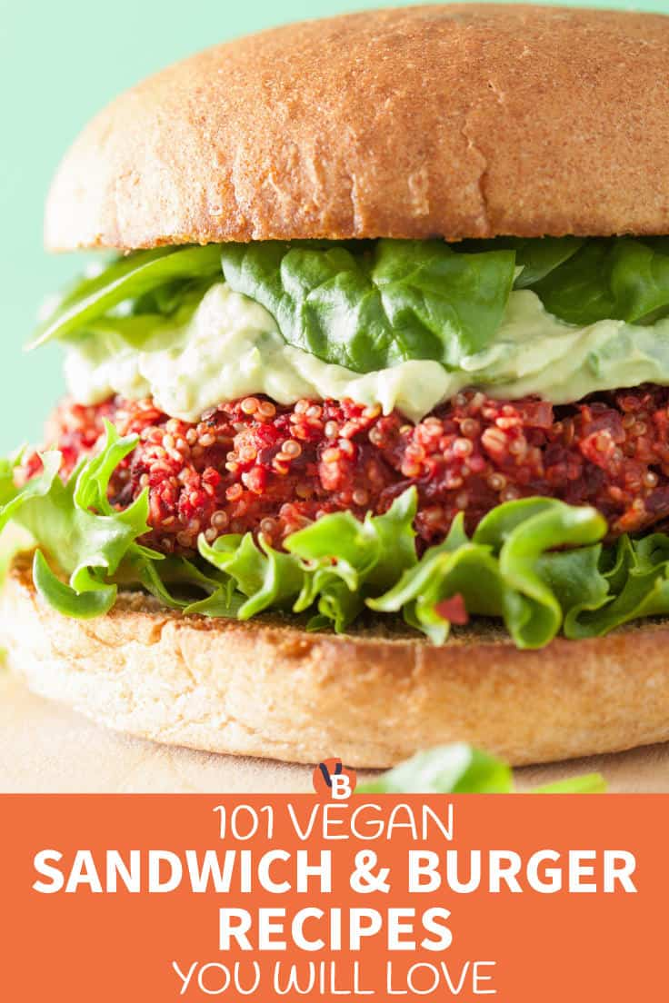 101 Vegan Sandwich and Burger Recipes You Will Love