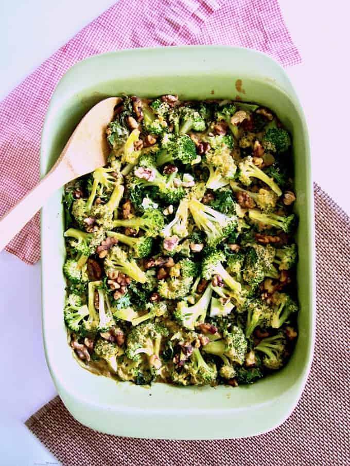 Broccoli, Kale & Rice Casserole