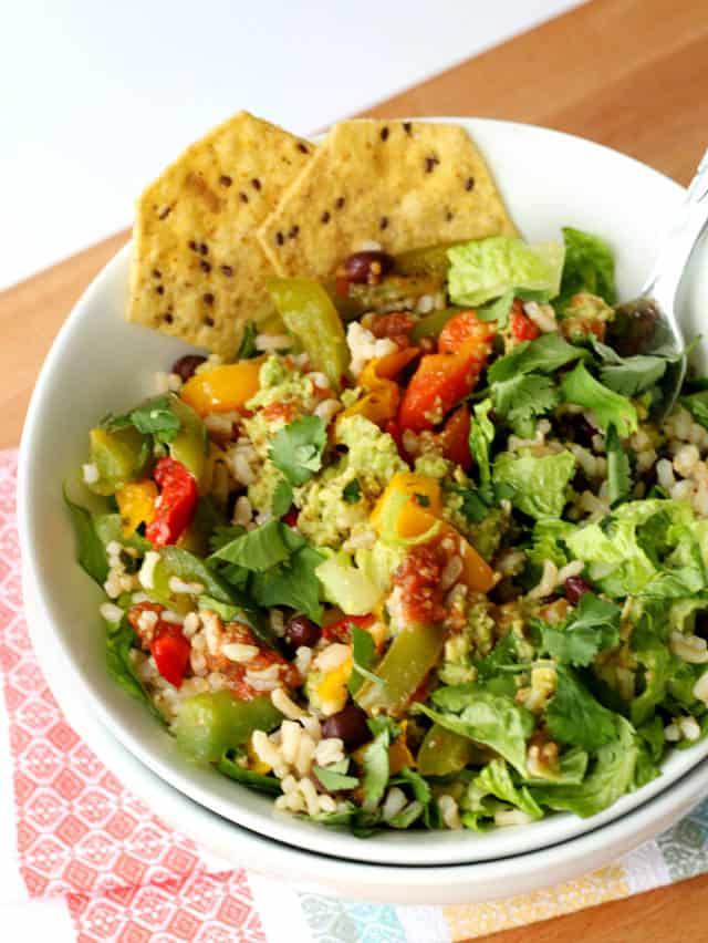 Brown Rice Salad Bowl