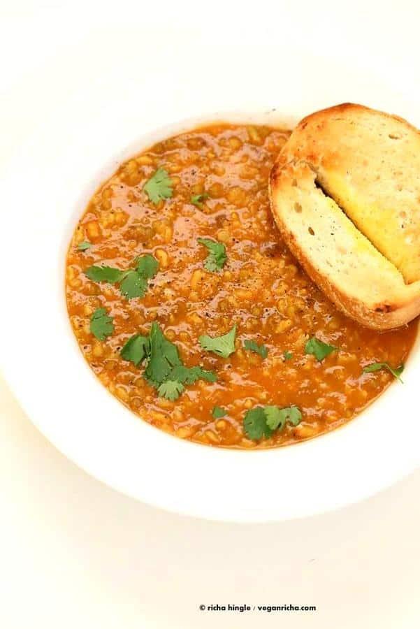 Brown Rice Mung Bean Kitchari