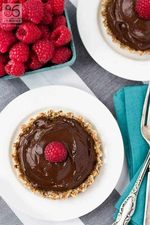 Chocolate Mini Tarts (Gluten-Free)