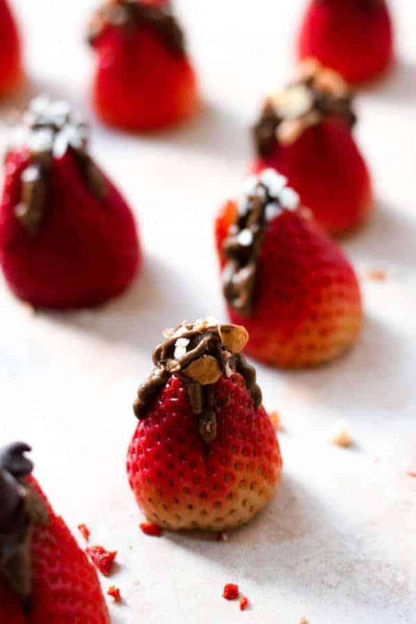 Chocolate Mousse Stuffed Strawberries (Gluten-Free)