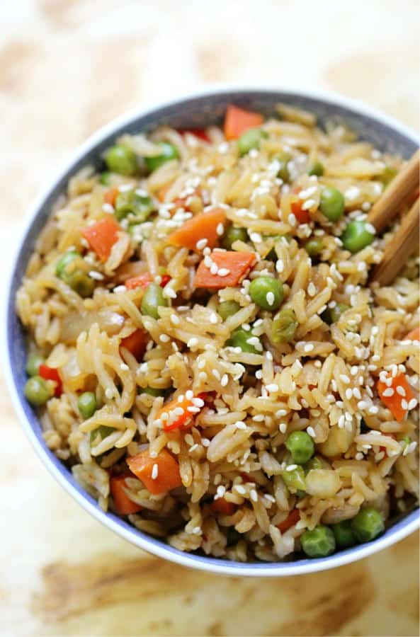 Classic Vegetable Fried Rice