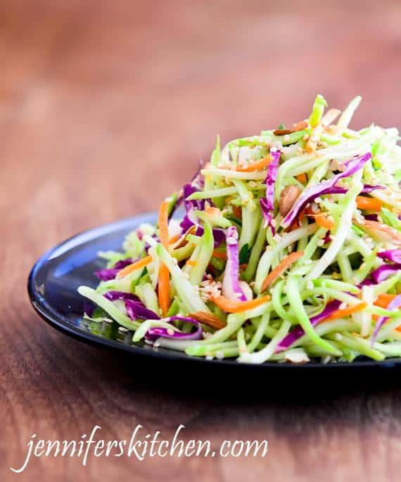 Crunchy Asian Broccoli Salad