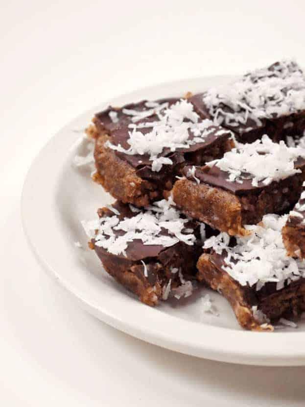 Double Chocolate Coconut Fudge Bars (Gluten-Free)