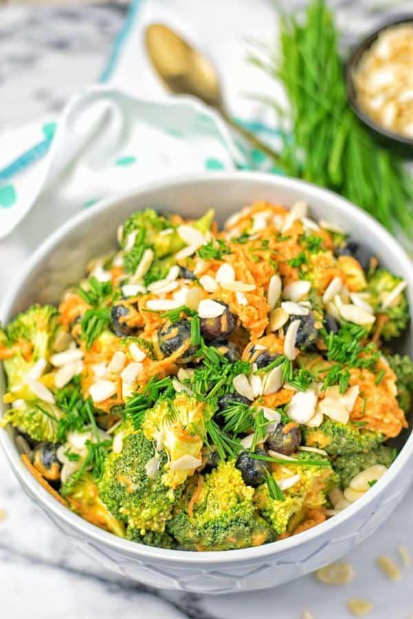 Easy Paleo Detox Broccoli Salad