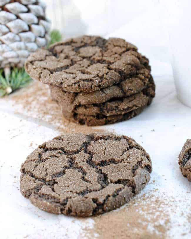 Mexican Hot Chocolate Snickerdoodles