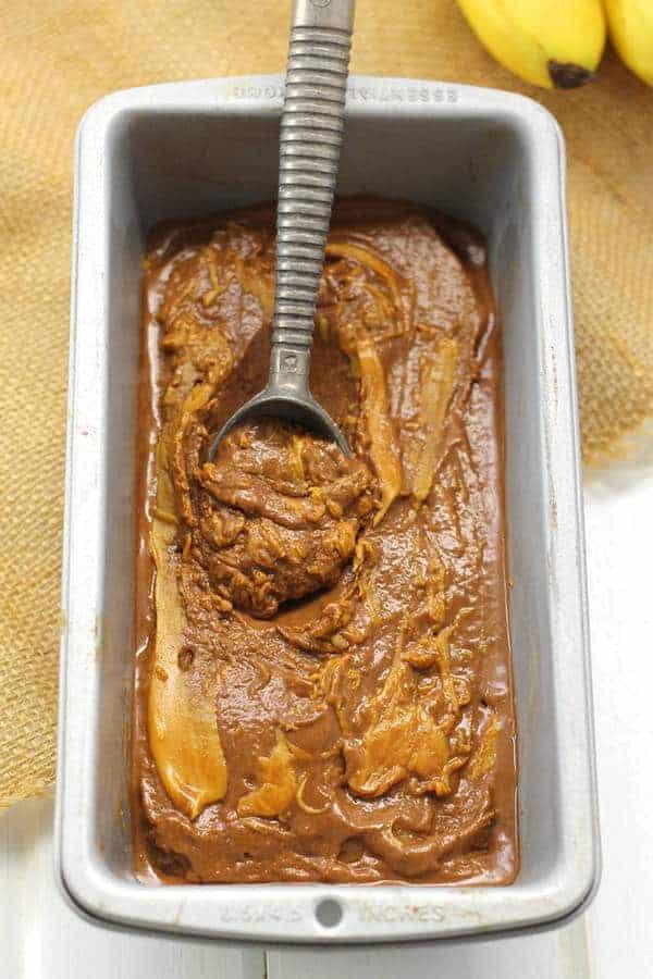 Peanut Butter Chocolate Banana Soft Serve (Gluten-Free)