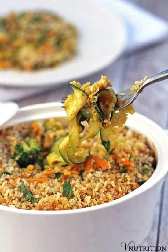 Pumpkin Vegetable Casserole (Gluten-Free)