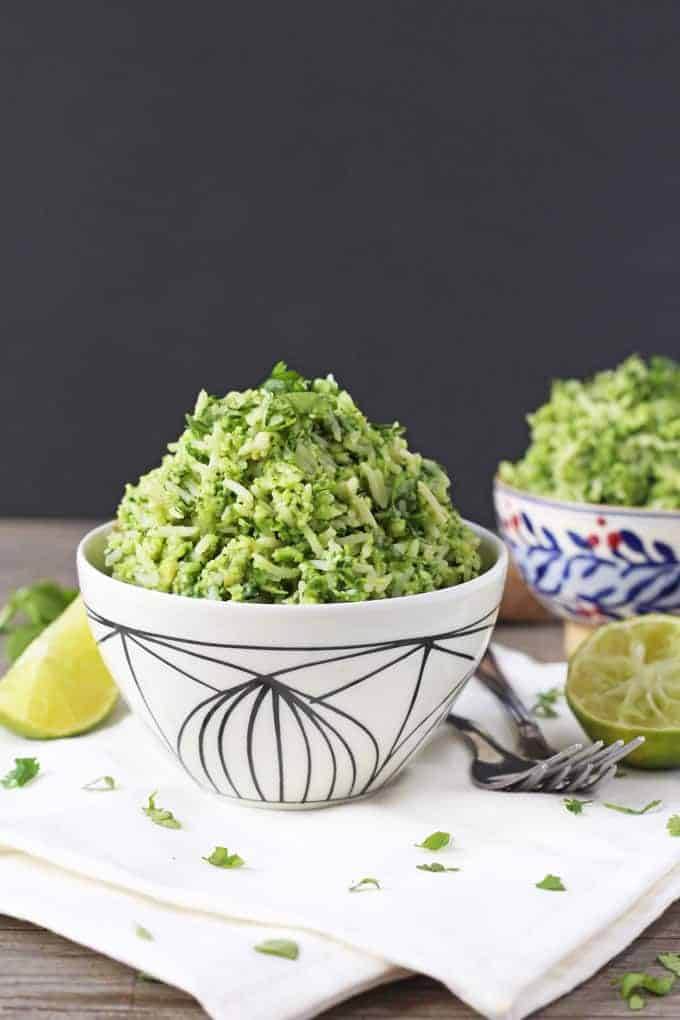 Secret Veggie Green Rice