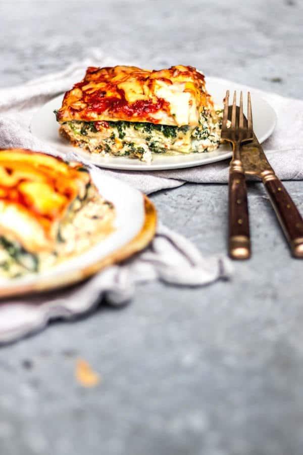 Spinach Ricotta Lasagne